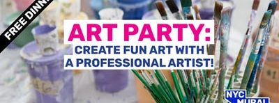 Art Party: Make Art at P.S. 24