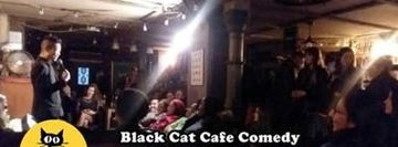 Free Comedy show! No Drink Minimum. Black Cat LES Standup Comedy Show