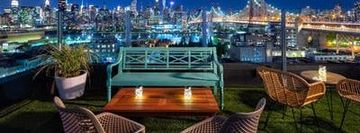 "ROOFTOP -HAPPY HOUR- ON THE WATER! @ THE NEW ""SAVANNA ROOFTOP"" - NYC SKYLINE & WATER VIEWS!"